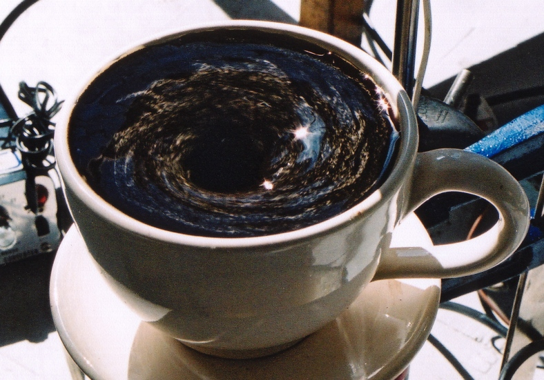 Antony Hall - Coffee Cup Vortex 2001